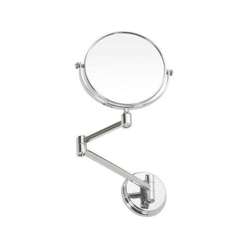 Make-up / Scheerspiegel Sapho X-Round Wandmontage Rond 15 cm Chroom