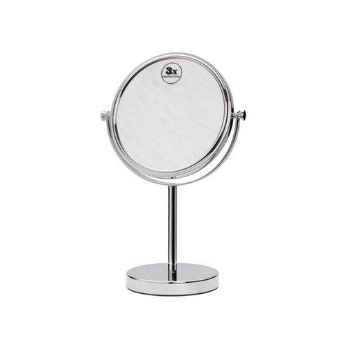 Vrijstaande Kaptafel Spiegel Sapho Rond 20 cm Chroom