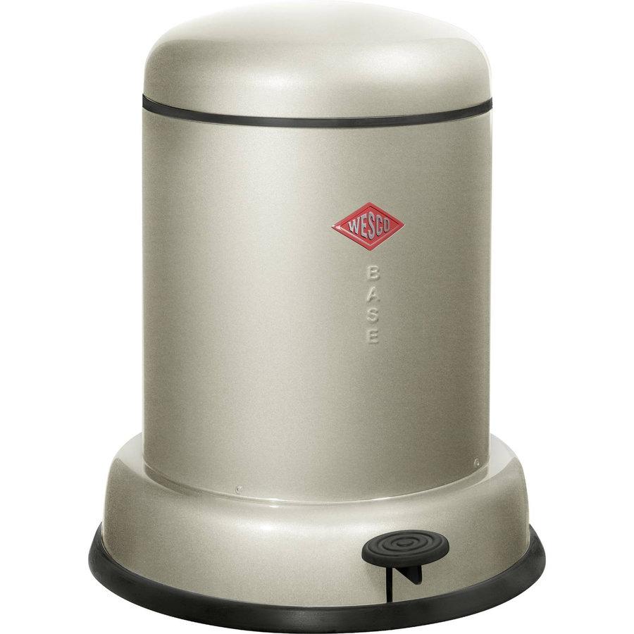 Afvalemmer Wesco Baseboy 8 Liter Zilver
