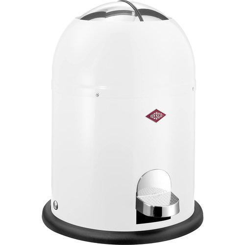 Afvalemmer Wesco Mini Master 6 Liter Wit