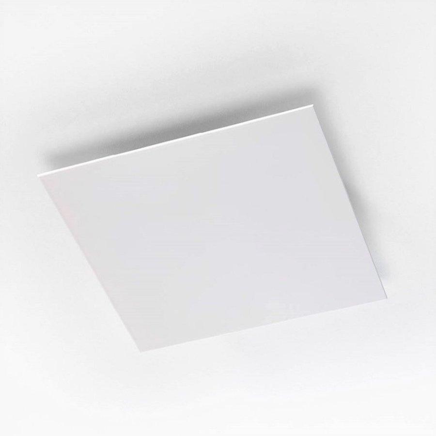 Afvoerventiel Design BWS Ventilatie Vierkant 12.5cm Groot Wit