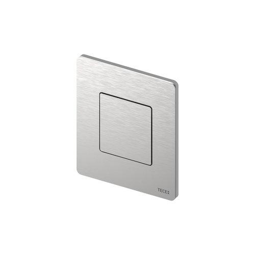 Urinoir Bedieningsplaat TECE Solid 10,4x12,4 cm RVS Geborsteld inclusief Cartouche