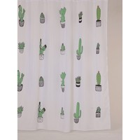 Allibert Douchegordijn Cactus 180x200cm