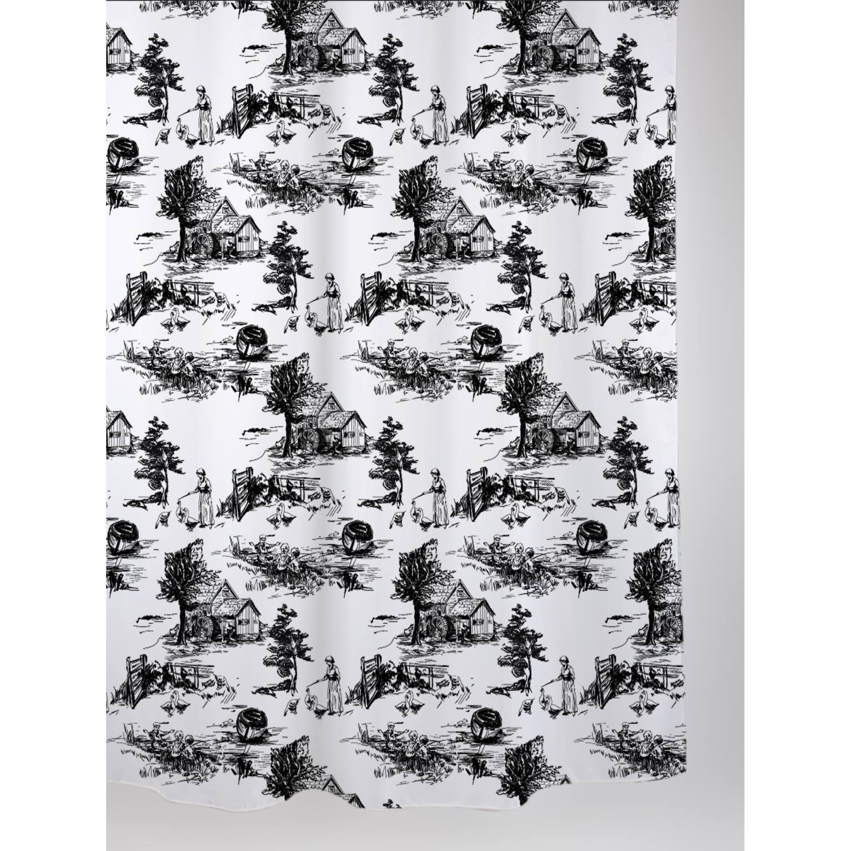Allibert Douchegordijn Retro Landelijke 180x200 cm Allibert