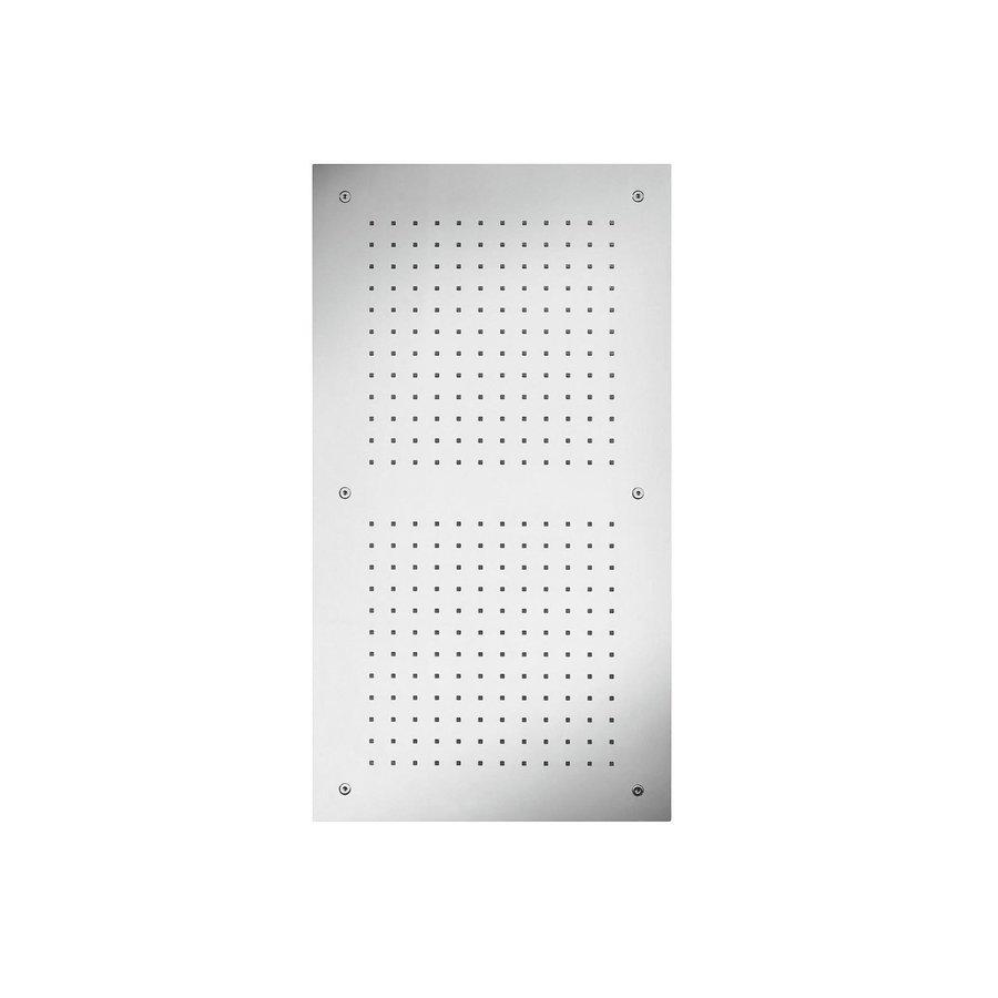 Hoofddouche Dubbel met Kleur LED-Verlichting Herzbach Living Spa Chroom (twee standen)