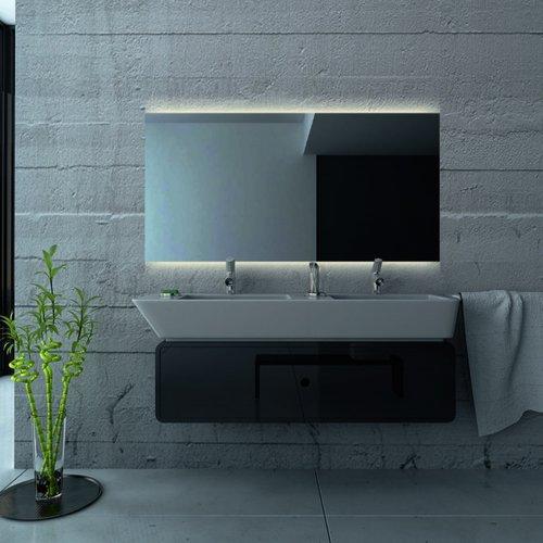 Badkamerspiegel Martens Design London met Verlichting en Verwarming (alle maten)
