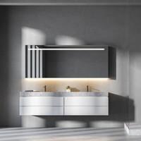 Badkamerspiegel Martens Design Ibiza met Verlichting en Verwarming (alle maten)
