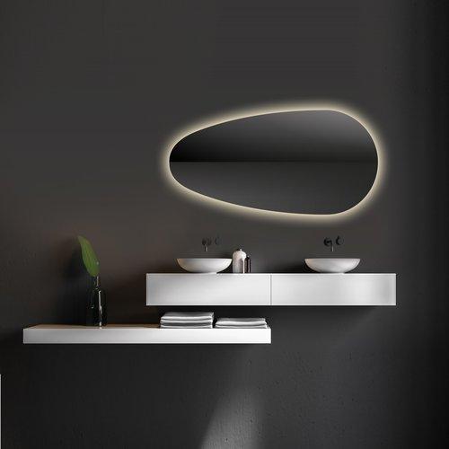 Badkamerspiegel Martens Design Joling met Indirecte LED Verlichting Rondom (alle maten)