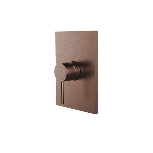 Inbouw Douchekraan Herzbach Design IX PVD-Coating Koper