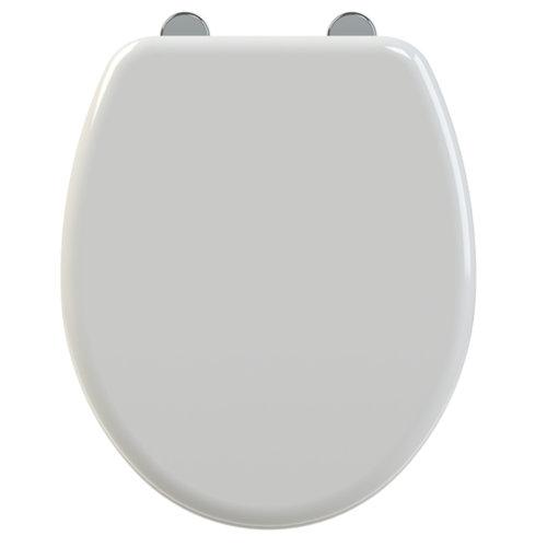Toiletzitting Allibert Simero 37,6x5x45 cm Anti-Bacterieel Wit