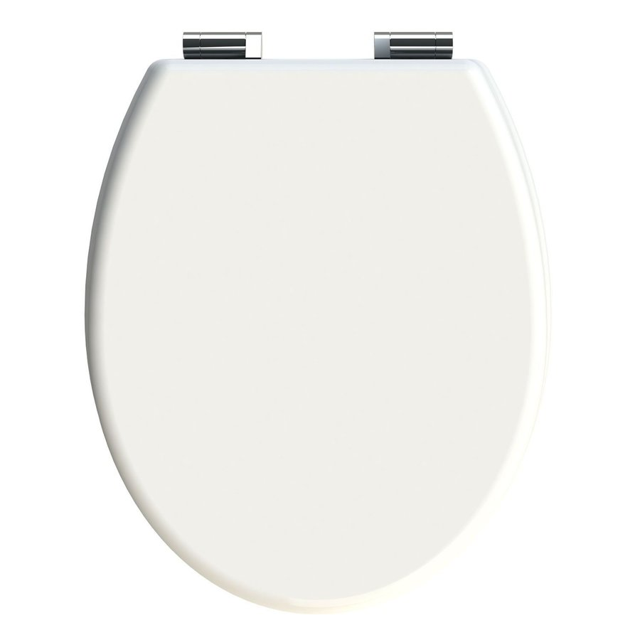 Allibert Toiletzitting Cilento 36,2x5,2x45,2 Glanzend Wit
