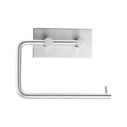 Toiletrolhouder Sapho 13.5x8.5 Zelfklevend Geborsteld RVS