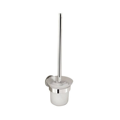 Toiletborstelhouder Sapho Samba Hangend 40.6x11.5x14 cm Chroom