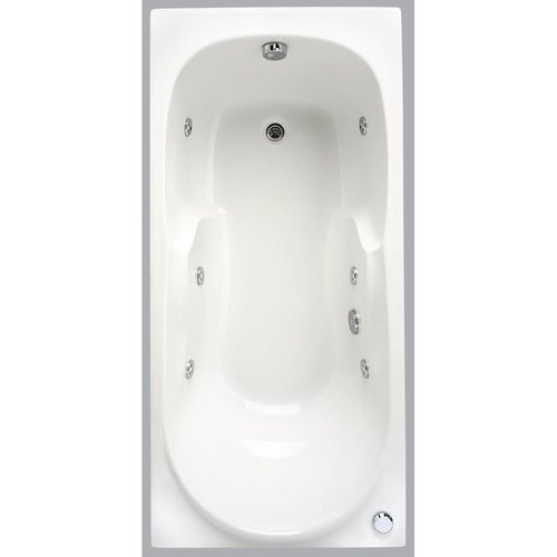 Allibert Whirlpool Carina Aquazen 2 170x80x57 cm Wit