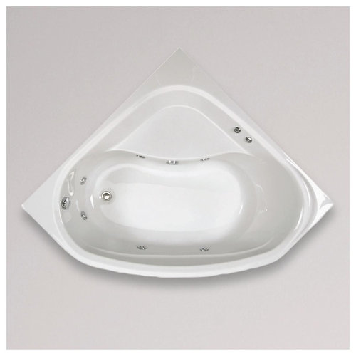 Allibert whirlpool Lucina Aquazen 2 140x140x54,5 cm Wit