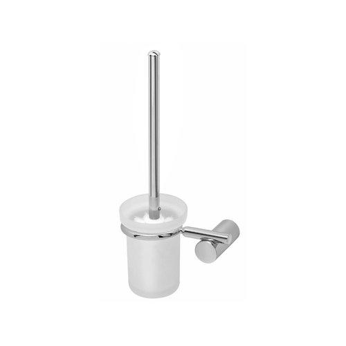 Toiletborstelgarnituur Herzbach Aurel Rond Design Verchroomd Messing