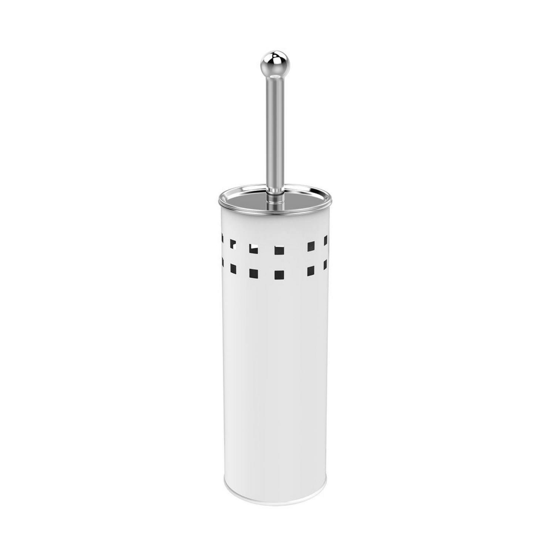 Toiletborstelhouder Sapho Simple Line Vrijstaand 28x10 cm Wit Sapho