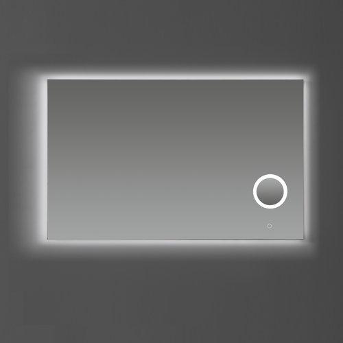 Badkamerspiegel Sanilux met Dimbare LED-Verlichting en Make-Up Spiegel 120x70x2,5 cm