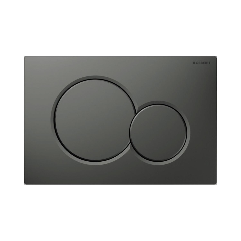 Geberit Bedieningsplaat Sigma 01 Frontbediening Mat Antraciet