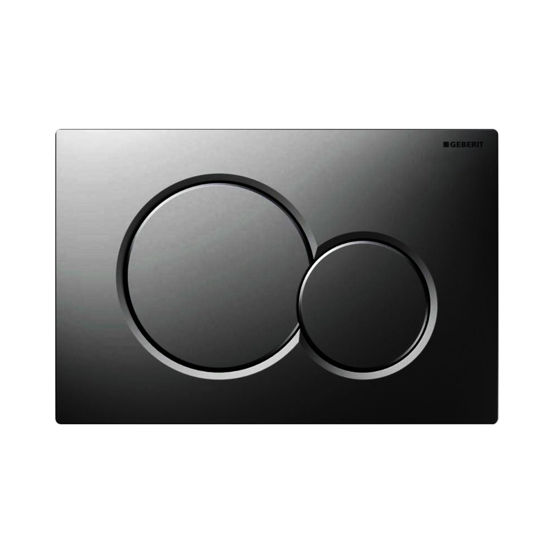 Geberit Bedieningsplaat Sigma 01 Frontbediening Black Chrome