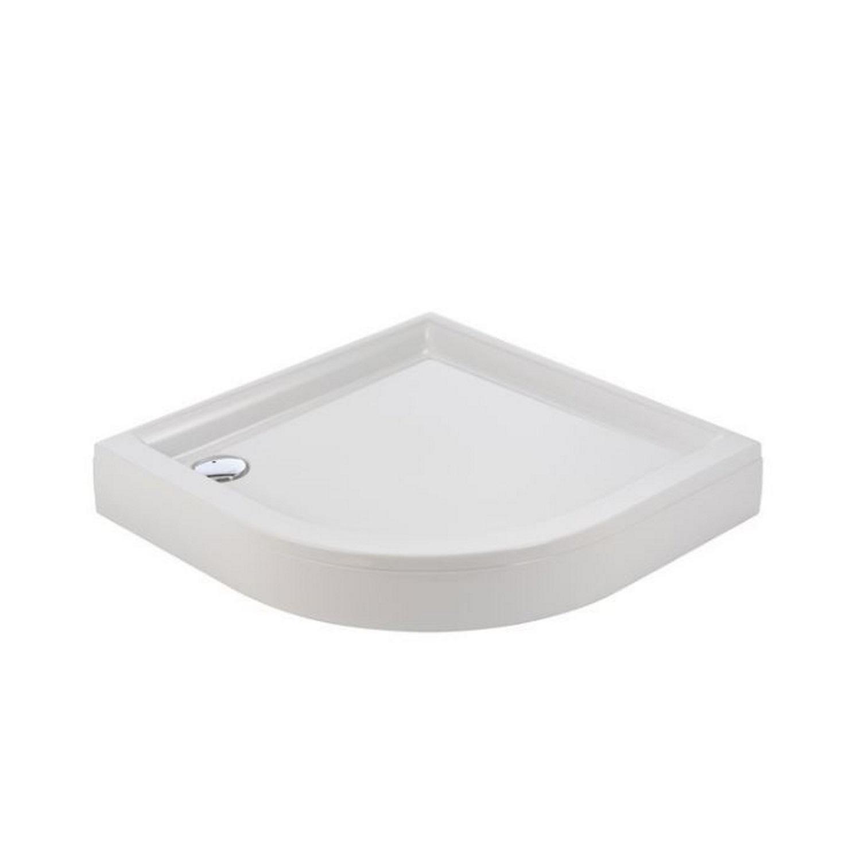Sealskin Senso Douchebak Kwartrond Met Voorpaneel 100x100 cm Wit