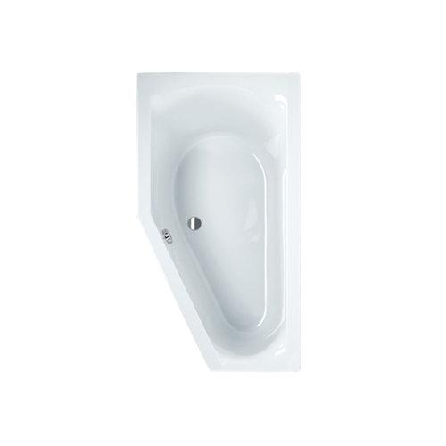 Sealskin Ligbad Senso Slimfit Compact L 165x90 cm Wit