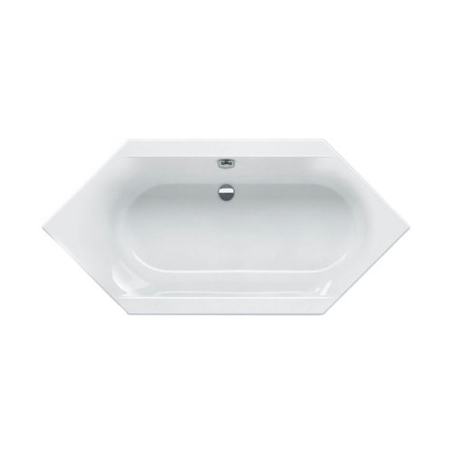 Sealskin Ligbad Senso Slimfit 135x135 cm 6 Hoek