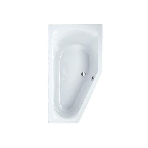 Sealskin Ligbad Senso Slimfit Compact R 165x90 cm Wit