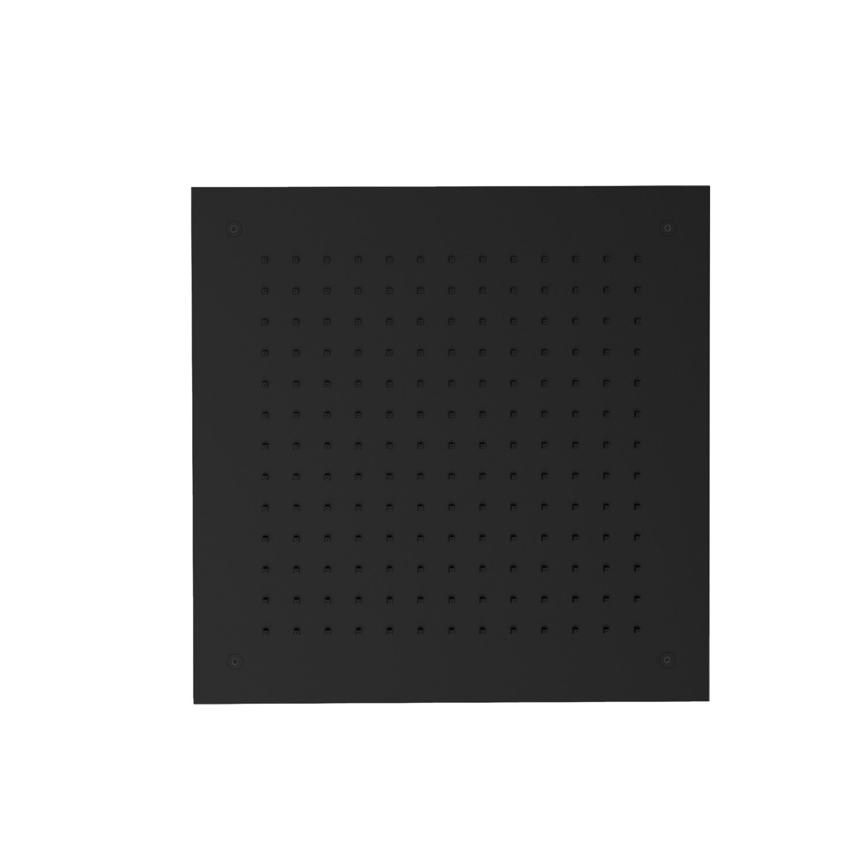Inbouw Hoofddouche GRB InCool Vierkant 35x35 cm Zwart GRB