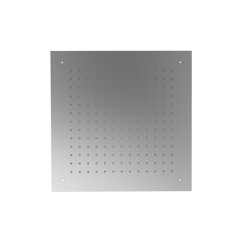 Inbouw Hoofddouche GRB InCool Vierkant 35x35 cm Inox GRB