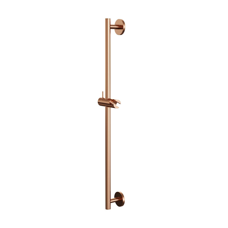 Glijstang Brauer Copper 70 cm Met Wandaansluitbocht Koper Brauer