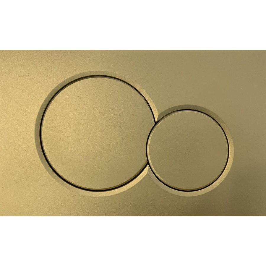 Bedieningsplaat Geberit Sigma 01 Frontbediening Goud