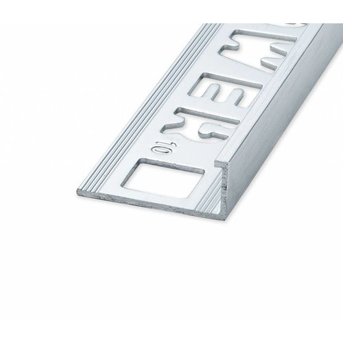 Tegelprofiel Lynox Rechthoekig Geborsteld Glanzend Zilver