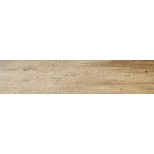 Vloer en Wandtegel Tebe Sagano 30x120 cm Hout Bruin (Doosinhoud per M²)