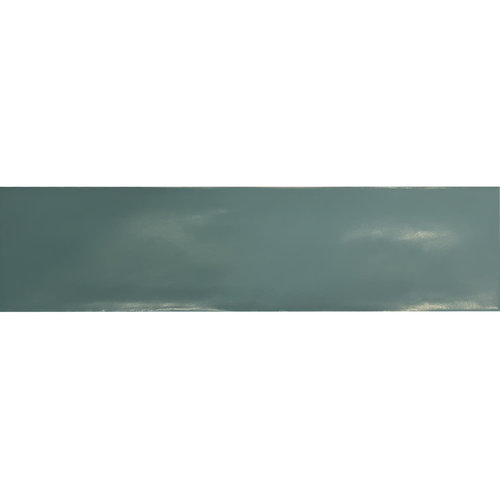 Wandtegel Tebe Vintage 7.5x30 cm Mat Jade Groen (Doosinhoud per M²)