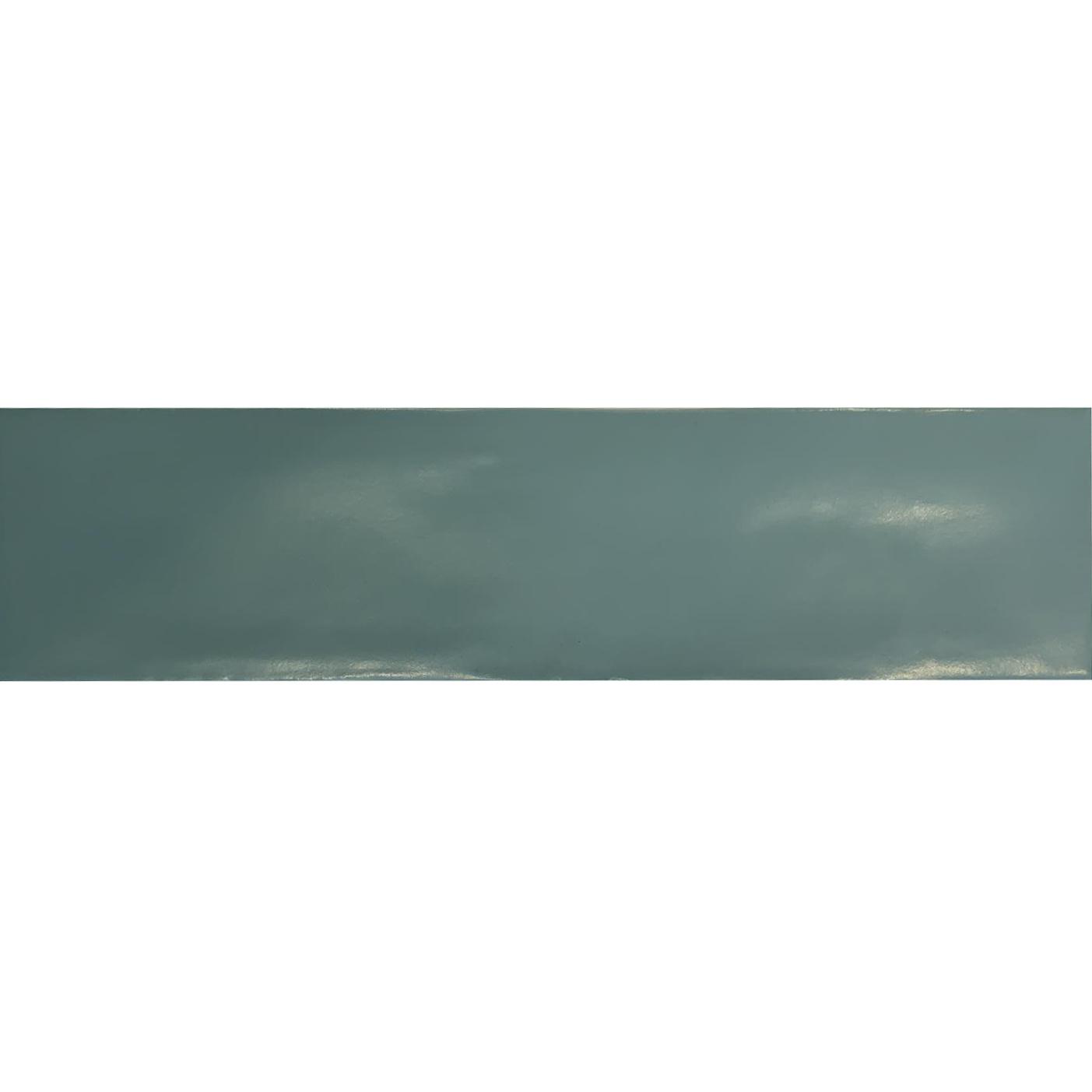 Wandtegel Tebe Vintage 7.5x30 cm Mat Jade Groen Tebe
