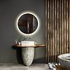 Gliss Design Spiegel Gliss Design Circum Framework Rond LED Verlichting