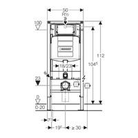 Geberit UP320 Toiletset Randloos Mudo Set62