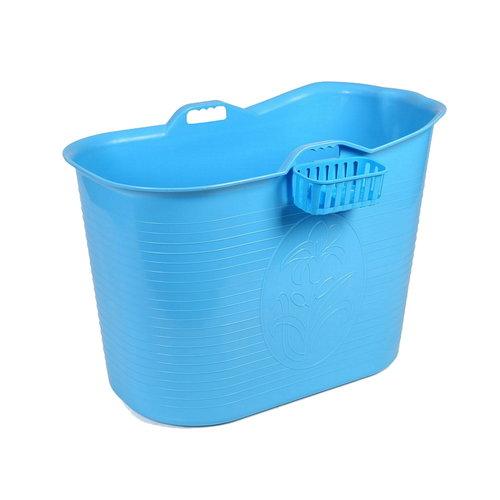 Bath Bucket Voor Volwassenen Blauw 92x51x63cm 200 L