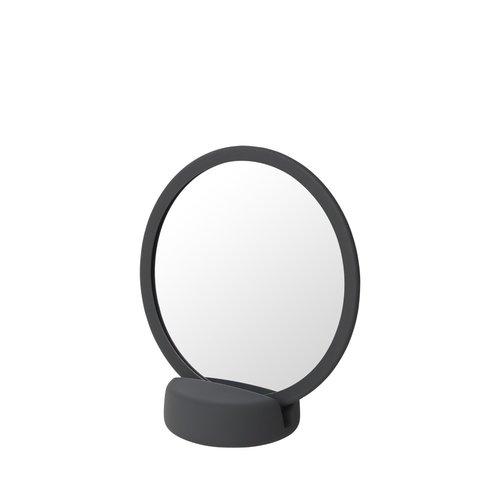 Scheerspiegel Blomus Sono Ø 17 cm Make-Up Spiegel Vijf Keer Vergrotend Magnet