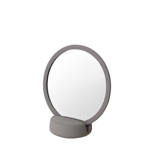 Scheerspiegel Blomus Sono Ø 17 cm Make-Up Spiegel Vijf Keer Vergrotend Satellite