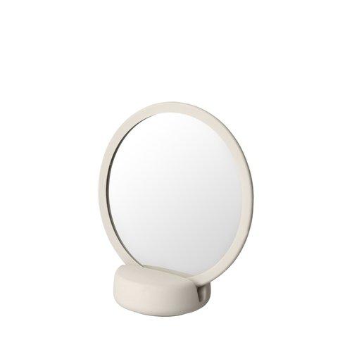 Scheerspiegel Blomus Sono Ø 17 cm Make-Up Spiegel Vijf Keer Vergrotend Moonbeam