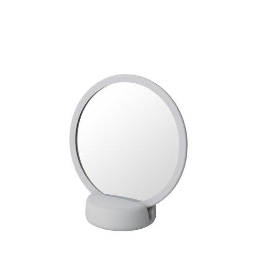 Scheerspiegel Blomus Sono Ø 17 cm Make-Up Spiegel Vijf Keer Vergrotend Micro Chip