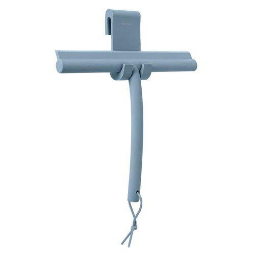 Douchewisser Blomus Vipo 25x20 cm met Siliconen Ophangbevestiging Ashley Blue