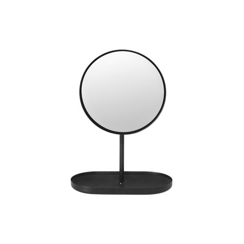 Scheerspiegel Blomus Modo Make-Up Spiegel Gepoedercoat Edelstaal Zwart