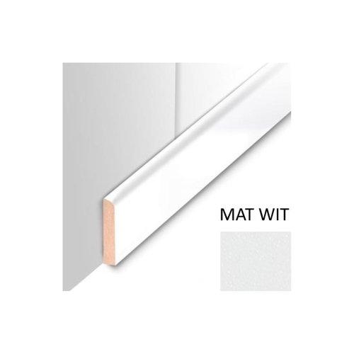 Plafondplint MDF Sanimex Mat Wit 260 cm x 4 cm x 8 mm