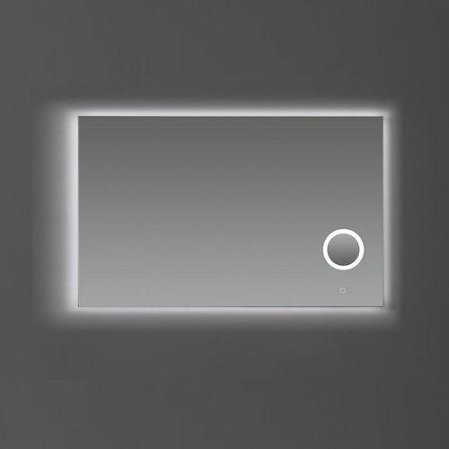 Badkamerspiegel Sanilux met Spiegelverwarming Dimbare LED-Verlichting en Make-Up Spiegel 120x70x2,5 cm