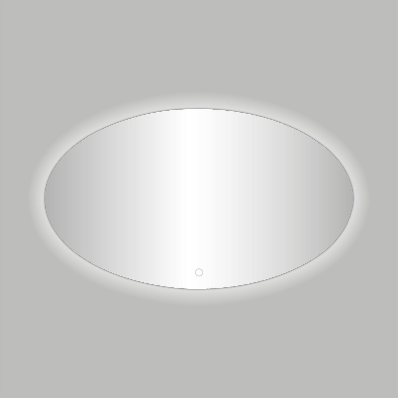 Best Design Badkamerspiegel Divo-80 LED Verlichting 80x60 cm Ovaal