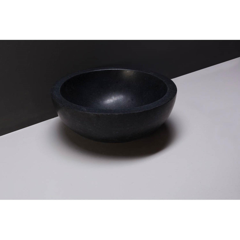 Waskom Forzalaqua Roma Graniet Gezoet 40x15 cm Forzalaqua