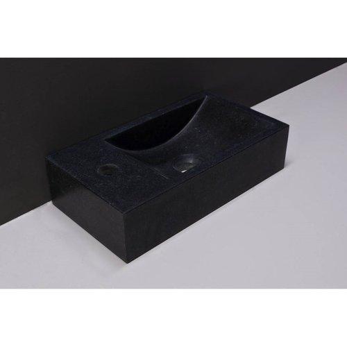 Fontein Forzalaqua Venetia Graniet Gezoet Zonder Kraangat Links 40x22x10 cm